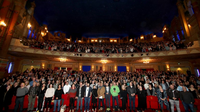 The Meg Cast and Crew Screening at The Civic