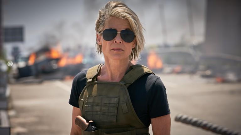 Terminator: Dark Fate - Sarah on the highway