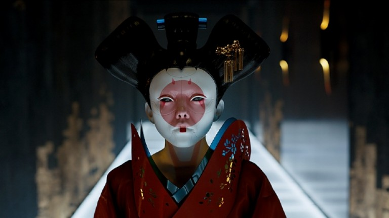 Red Robe Geisha