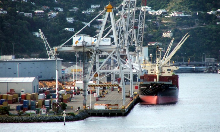 Aotea Quay, Wellington, North Island