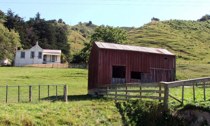 Farm near Mangaweka, Manawatu-Wanganui, North Island