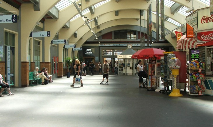 Wellington Railway Station, Wellington, North Island