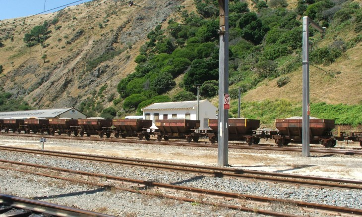 Paekakariki Railway sidings, Wellington, North Island