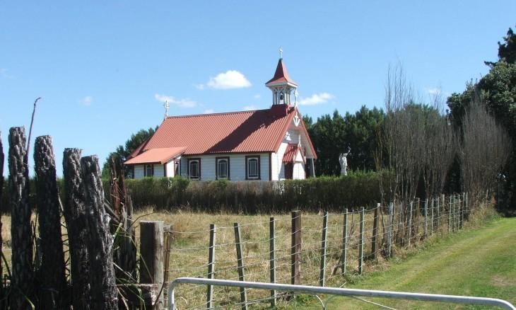 Church near Rata, Manawatu-Wanganui, North Island