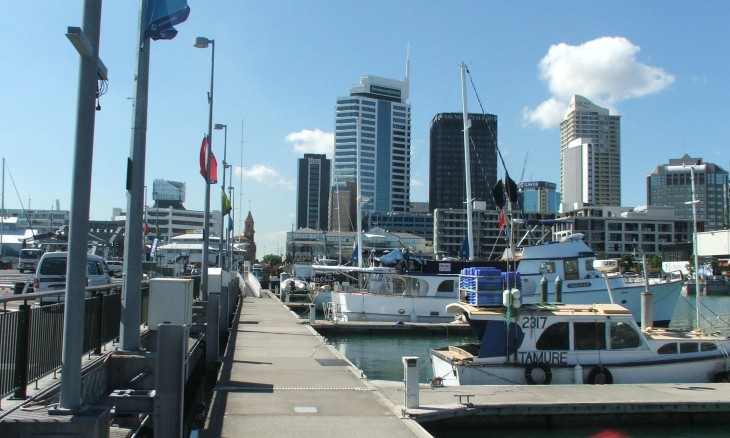 Viaduct Basin, Auckland, North Island