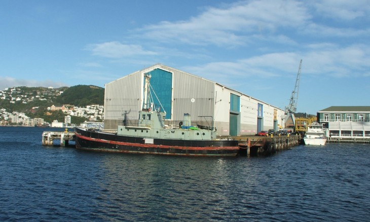 Docks, Wellington, North Island