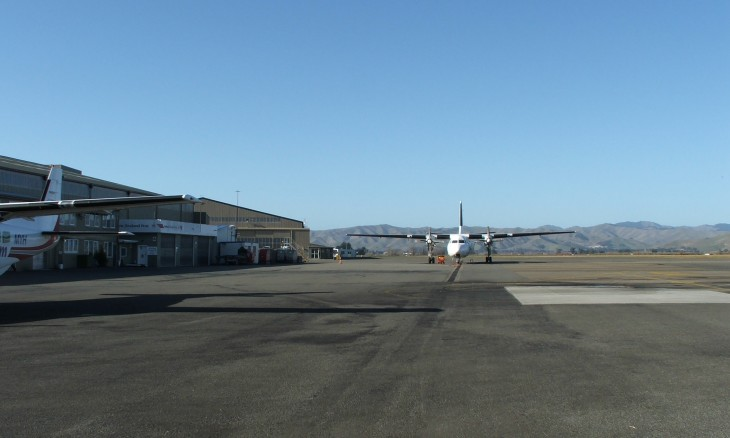 Blenheim Airport, Blenheim, South Island