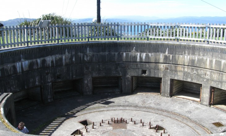 Wrights Hill Fortress, Wellington, North Island