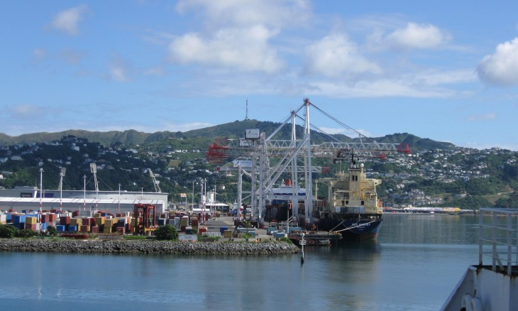 Wharves, Wellington, North Island