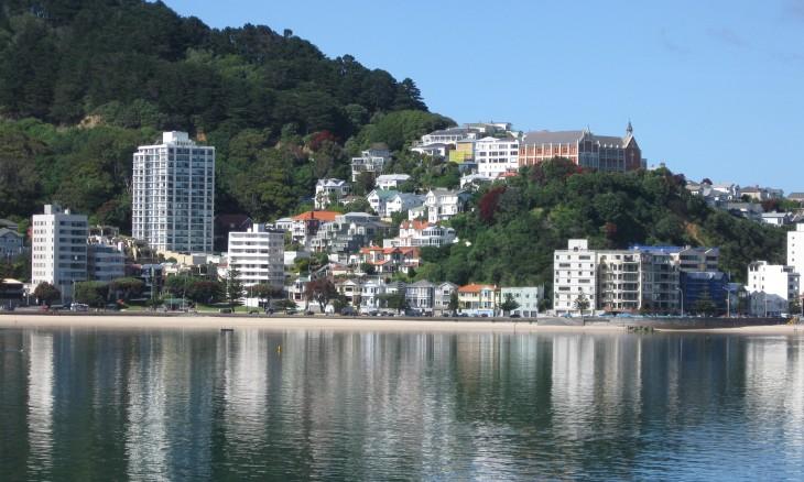 Oriental Bay, Wellington, North Island