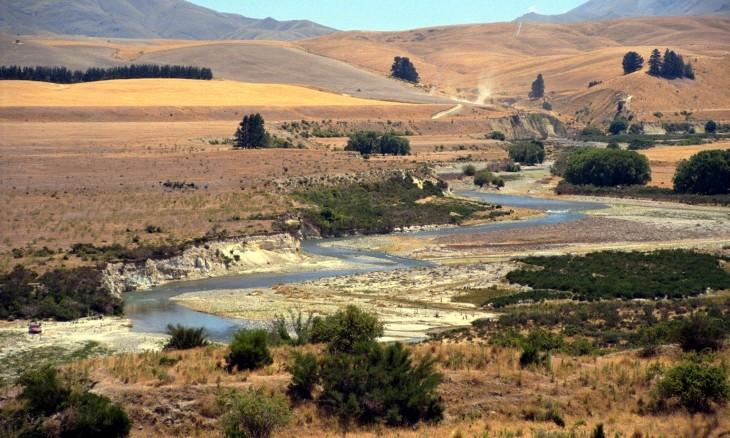 River near Alexandra, Otago, South Island