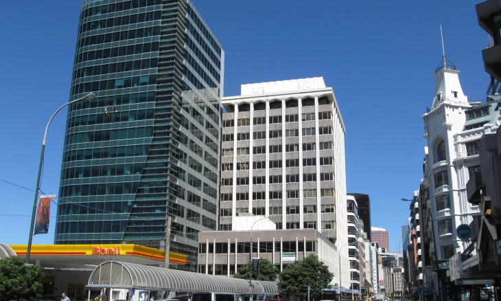Featherston Street, Wellington, North Island