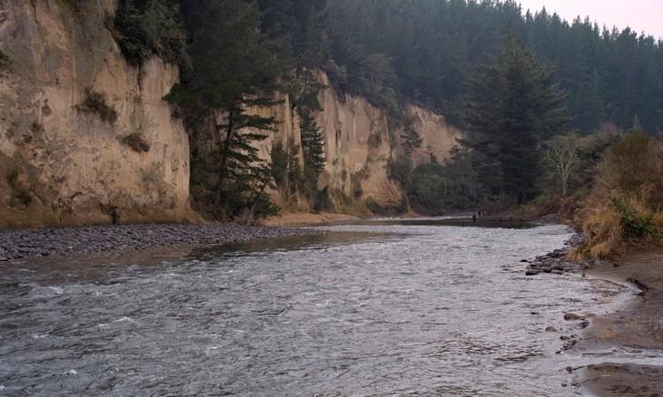 River near Turangi, Central Plateau, North Island