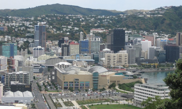Cityscape, Wellington, North Island