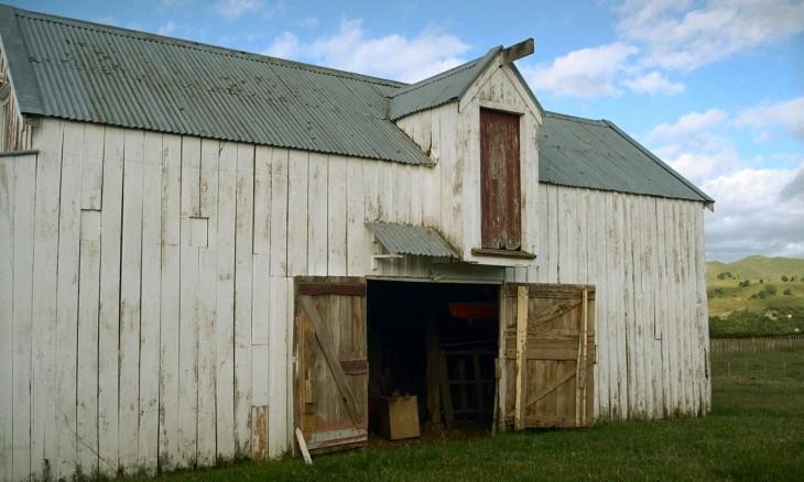 Barn near Fielding, Manawatu-Wanganui, North Island