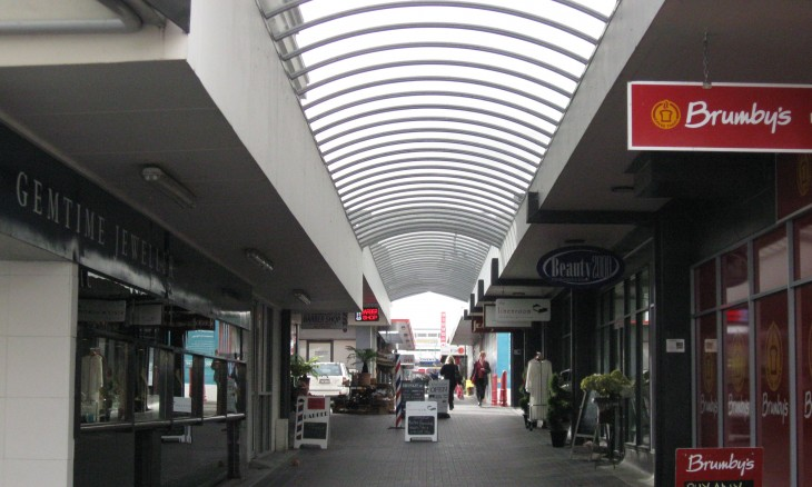 Shopping Mall, Taupo, North Island