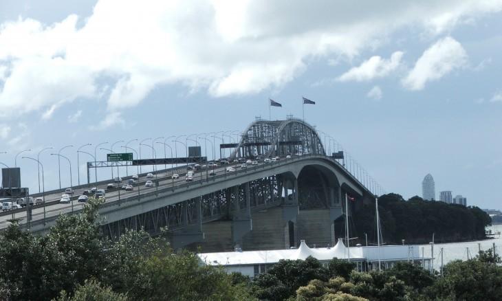 Auckland Harbour Bridge, Auckland, North Island