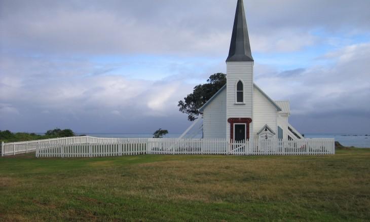 Anglican Church at Waihau Bay, East Cape, North Island