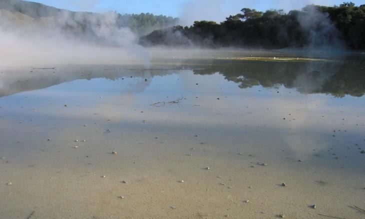 Waiotapu Thermal Park, Rotorua, North Island