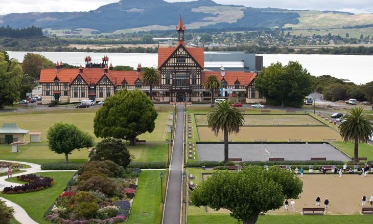 Rotorua Museum, Rotorua, North Island