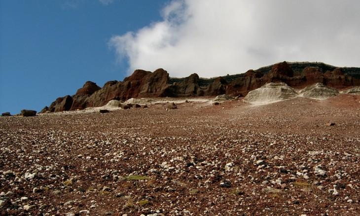 Mt Tarawera, Bay of Plenty, North Island