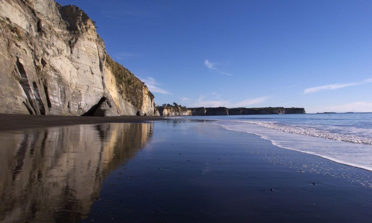 White Cliffs, Taranaki, North island