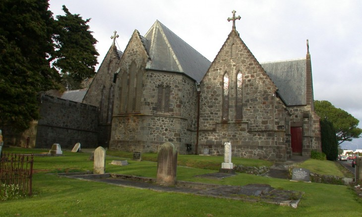 St Mary's Church, New Plymouth, North Island