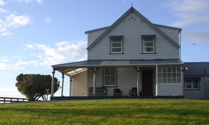 Farmhouse near Waverly, Taranaki, North Island