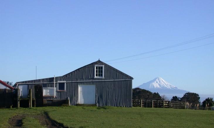 Barn near Hawera, Taranaki, North Island