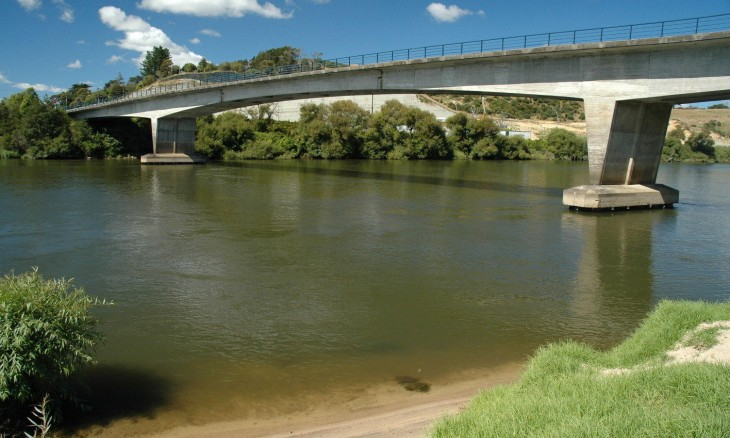 Bridge near Auckland, North Island