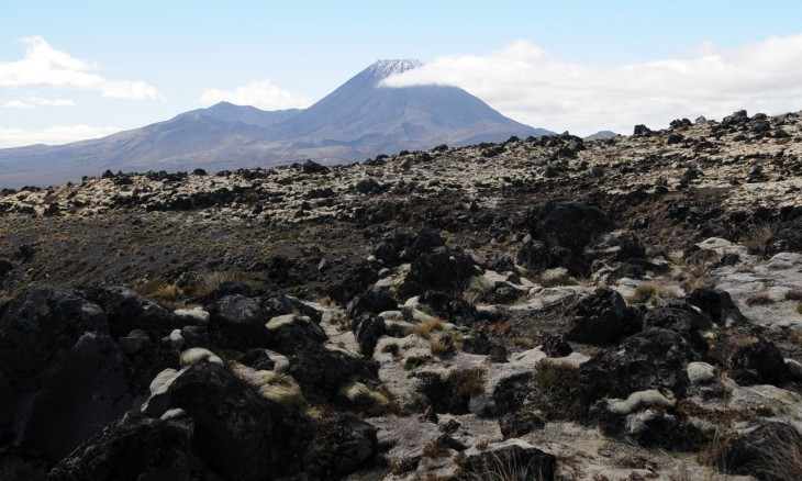 Mt Ngaurahoe (summer), Central Plateau, North Island