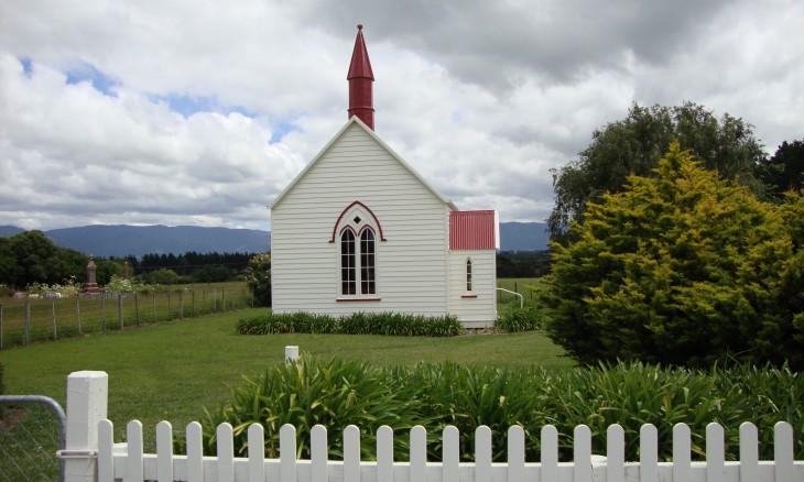 Burnside Church, Wairarapa, North Island