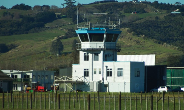 Ardmore Airport control tower, Auckland, North Island