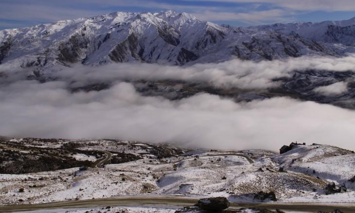 View from Pisa range, Otago, South Island