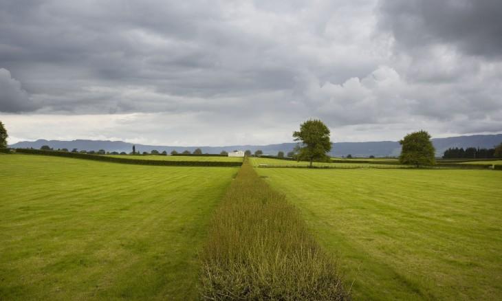 Farmland near Cambridge, Waikato, North Island