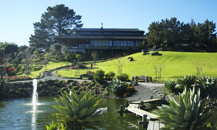 Japanese house at Whitford, Auckland, North Island