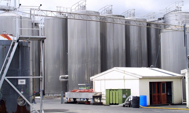 Nobilo Winery at Kumeu, Auckland, North Island