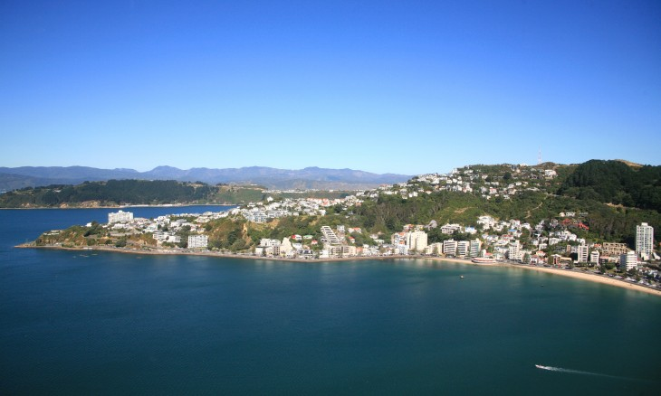 Wellington Harbour, Wellington, North Island