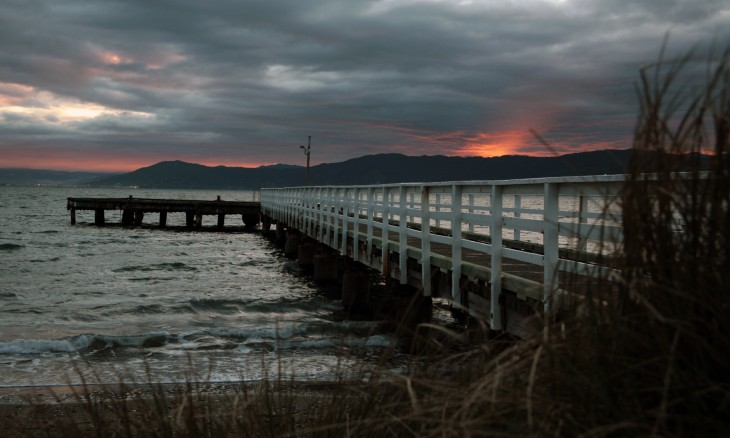 Seatoun Wharf, Wellington, North Island