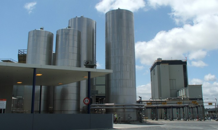 Dairy Plant in Hamilton, Waikato, North Island