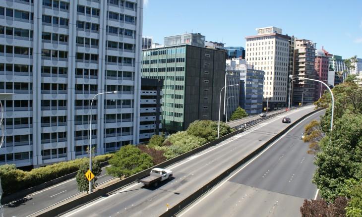 Wellington motorway, North Island