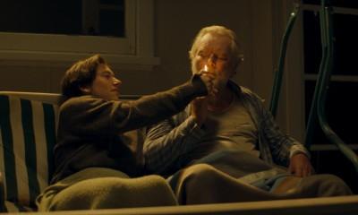 GREEN - Mark Mitchinson as John and Gabe Wright as Blake - lighting up