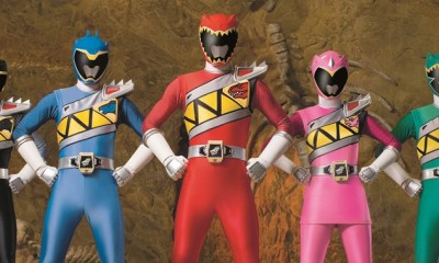 Power Rangers showcase