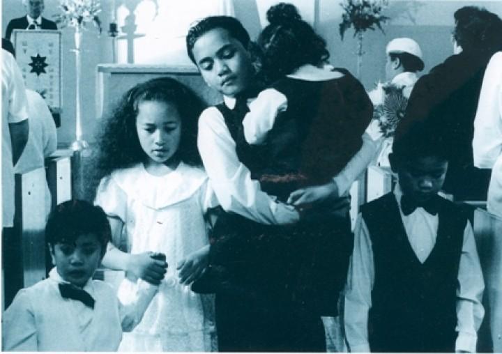 A scene from O Tamaiti