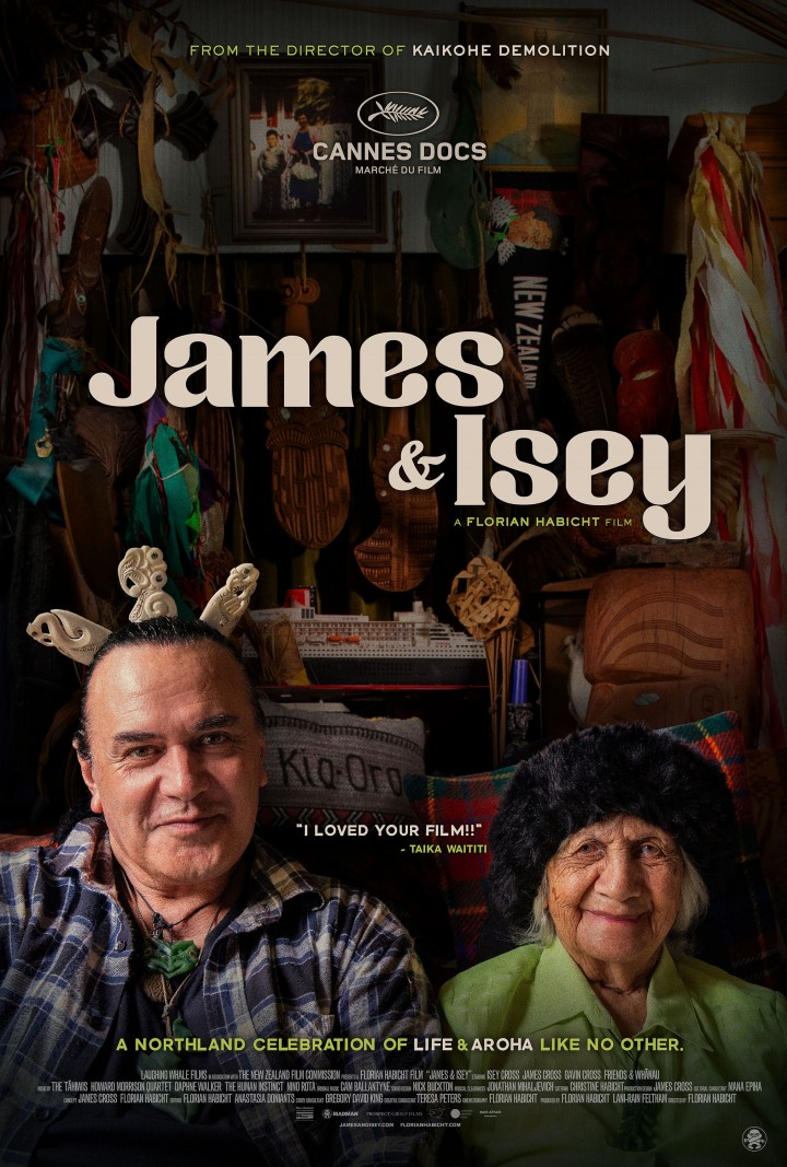 James & Isey Poster