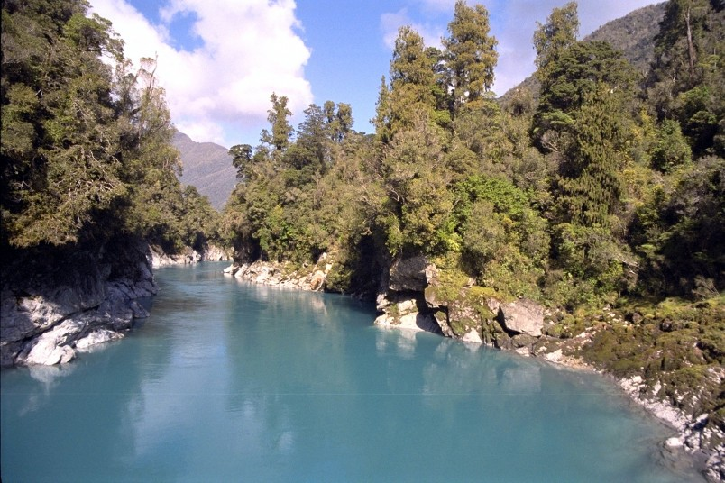 River near Hokitika, West Coast, South Island