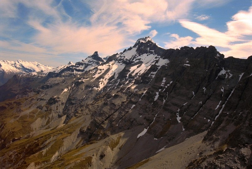 Mountains near Te Anau, Southland, South Island