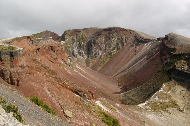 Mt Tarawera, Bay of Plenty, North Island