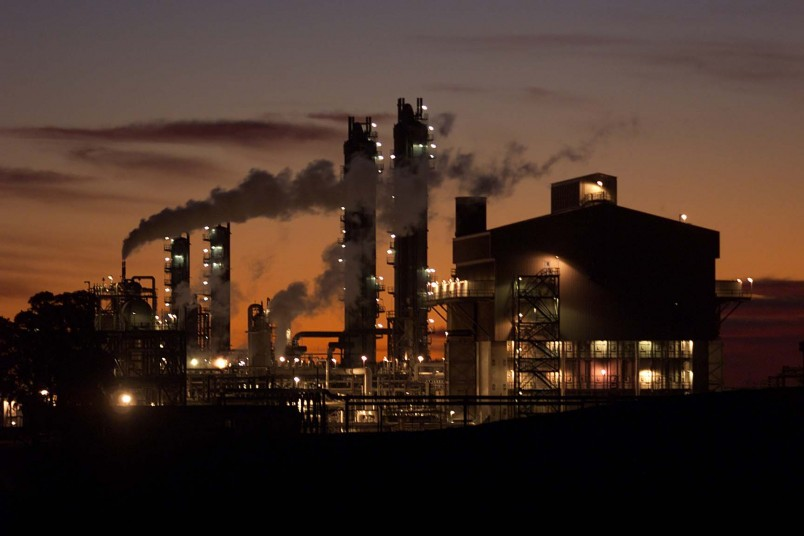 Gas plant, Taranaki, North Island