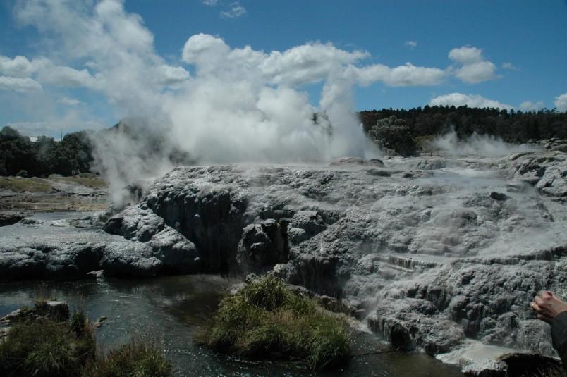 Geothermal attraction, Rotorua, North Island